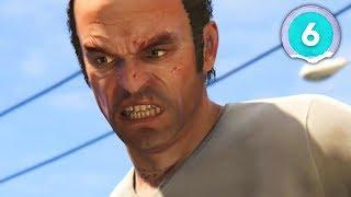 REACTING TO TREVOR  - Grand Theft Auto 5 - Part 6