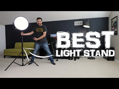 Best Light Stand for LED Lights or Soft Boxes