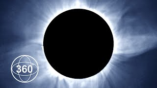 A Once In A Lifetime View Of The Total Eclipse in 360°