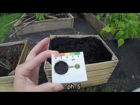 How to naturally lower ph of soil.  Planting of heather
