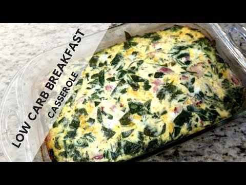 Low Carb Breakfast Casserole