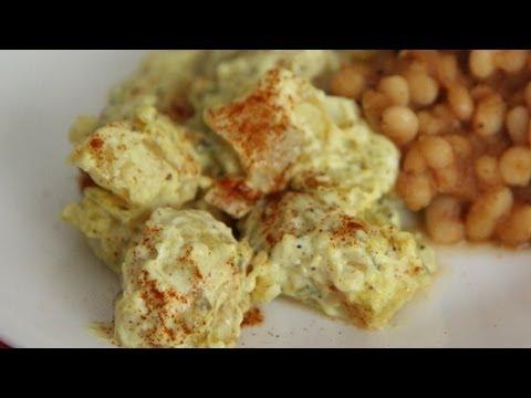 Vegan Potato Salad Recipe - Vegan cookout side dish - Meatless Monday