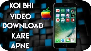 (HINDI) Download Any Video On Your Iphone