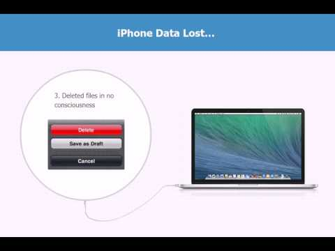 Recover Deleted/Lost Messages (Tango, Viber, WhatsApp,iMessages) for iPhone