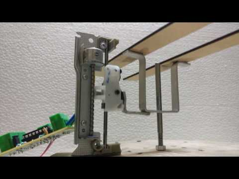 Linear Actuator | Lift Mechanism Using Arduino, DVD Bipolar Stepper Motor And Motor Driver (L293D)