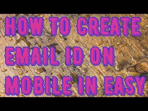 How to create new email Id on android mobile
