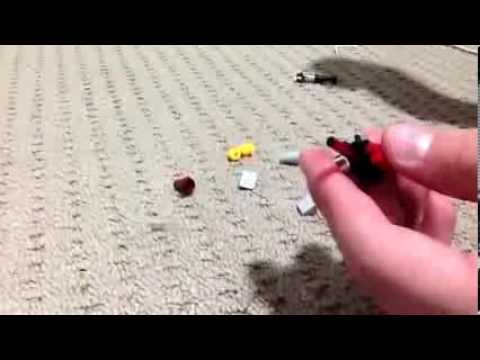 How to make a lego gun and taser