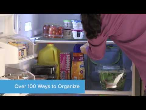 100 Ways to Organize with Frigidaire Gallery French Door