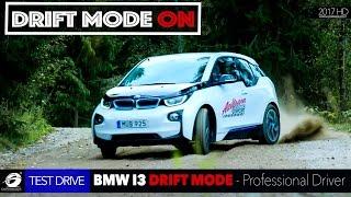 BMW i3 – Electric Car Drift WRC by Professional Rally Driver Rauno Aaltonen [GOMMEBLOG]