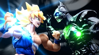 Dragon Ball Stop Motion - Goku VS Batman 悟空VS蝙蝠俠