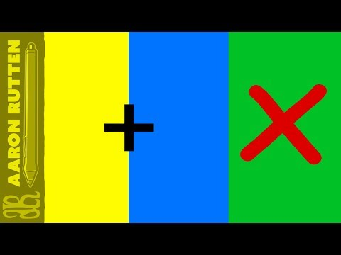 Mixing Yellow and Blue Does NOT Make Green