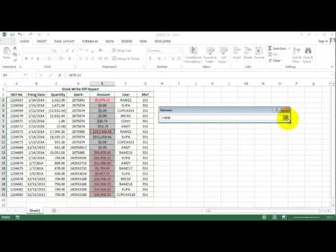 Excel 2013: Linking Data to Different Sources