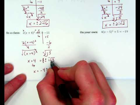 Complex Numbers Notes ex. 3 + one more