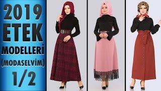7b7ce181725e6 2019 Etek Modelleri 1/2 (Modaselvim) | 2019 Skirt Models | #tesettür