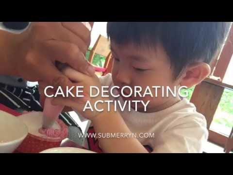 Cake decorating @ Holiday Inn Resort Mai Khao Beach, Phuket
