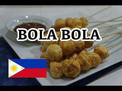 🇵🇭 BolaBola - Pinoy Tagalog Filipino - Fried Fish Balls Recipe