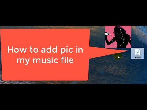 How to change pic in any music files on windows