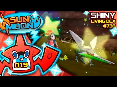 MY FAVORITE SHINY! SHINY VIKAVOLT / GRUBBIN REACTION! Quest For Shiny Living Dex #738 | Shiny #19