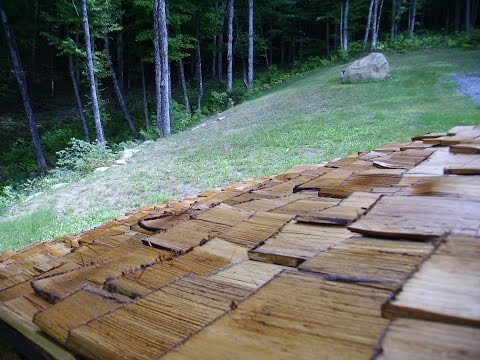 Home Cut Homemade Cedar Shingles