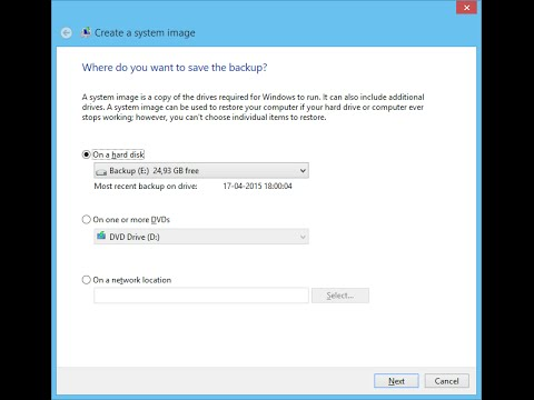 How to Create a Full Backup in Windows 8.1