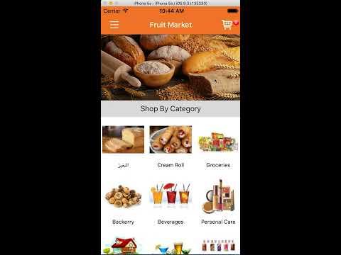 Fruit Market App