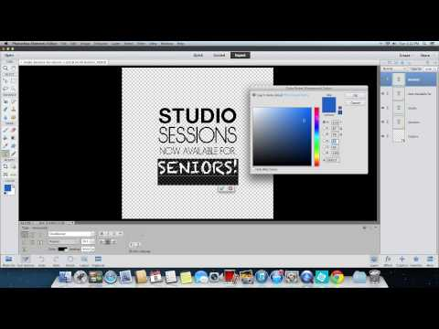 How to Customize Your Word Art Using Photoshop Elements (New Versions)
