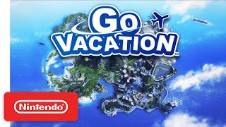 GO VACATION Announcement Trailer - Nintendo Switch