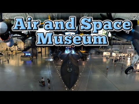 RCR goes to the Air and Space Museum