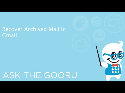Recover Archived Mail in Gmail