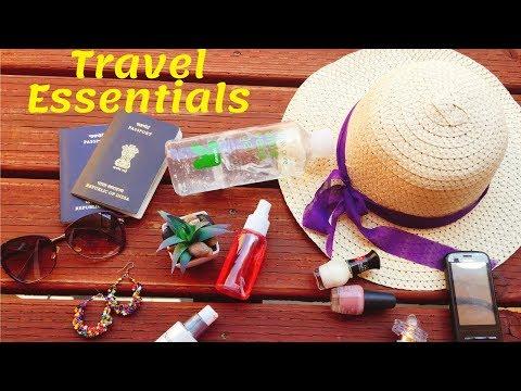 Travel skincare/hair care essentials in Hindi | summer vacation travel essentials / AVNI