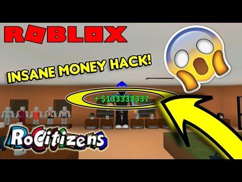 ROBLOX | RoCitizens INSANE MONEY HACK/GLITCH! [NEW] [WORKING] [UNLIMITED MONEY] [MARCH 2017]