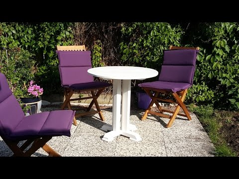 Small outdoor table build