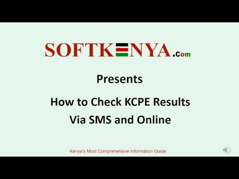 How to Check KCPE Results via SMS and Online