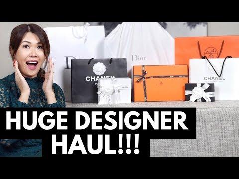 HUGE DESIGNER HAUL & UNBOXINGS - CHANEL, DIOR & HERMES | Mel in Melbourne