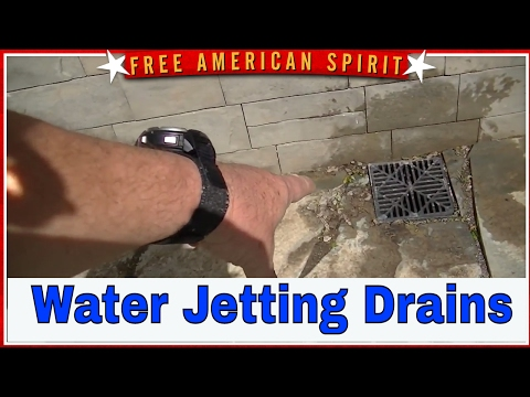 Water Jetting Drain Cleaning Floor Drain Basement Drain Canadaigua NY LeGrand and Company Plumbing