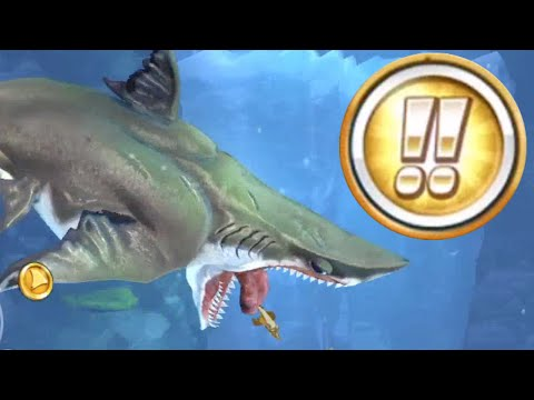 how to get MEGALODON in Hungry Shark World!