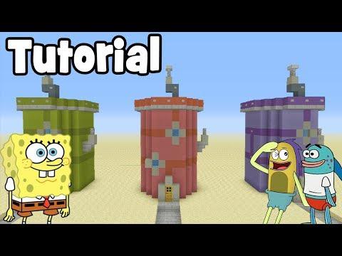 Minecraft Tutorial: How To Make A Bikini Bottom House