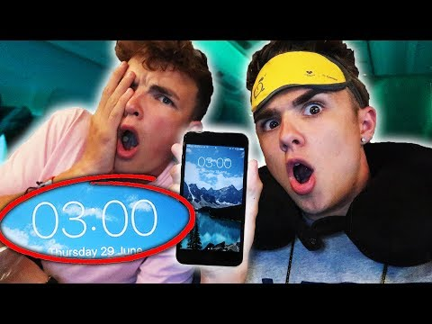 DO NOT DO THIS ON AN AIRPLANE AT 3AM!! (3AM CHALLENGE) *gone wrong*