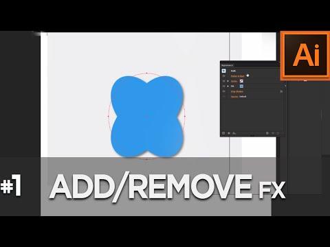 Add/remove effects  -SQT illustrator