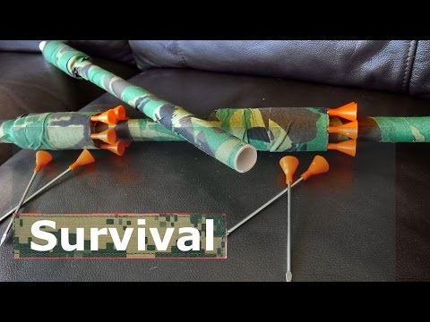 How To Make A Takedown Hunting Blowgun