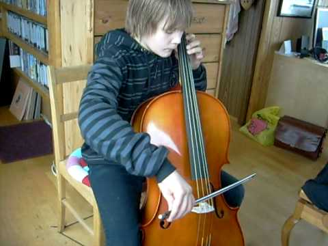 amazing cello player , 12 years old!
