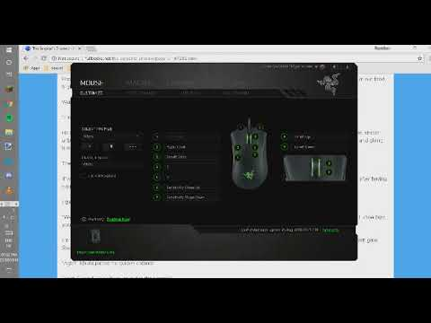 How to Change the DPI for Your Razer Mouse--- ONLY RAZER