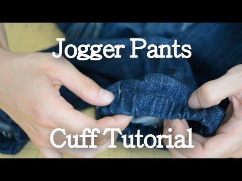 DIY: Jogger Pants Cuff Tutorial | KAD Customs #10