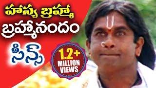 Hasya Brahma | #Brahmanandam Telugu Comedy Scenes | Vol 24