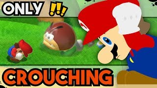 Is it Possible to Beat Super Mario 3D World while Permanently Crouching?