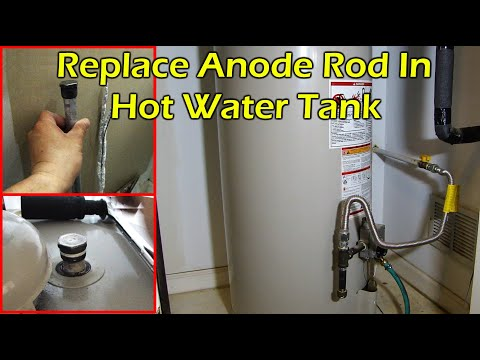 Changing Out The Anode Rod in a Hot Water Heater