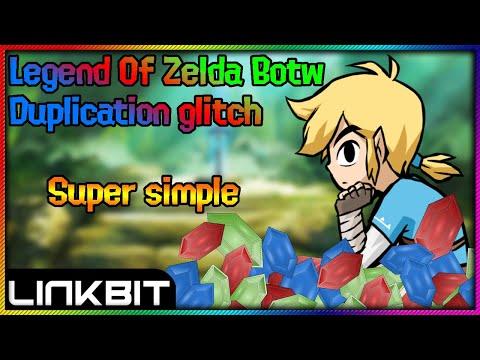 Legend of Zelda Botw duplicate rupees made very easy!!!!