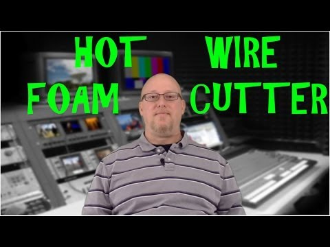 How to make a Hot Wire Foam Cutter w/ FREE 12