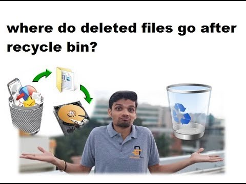 Where do deleted files go after recycle bin