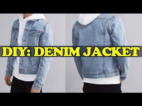 DIY: Denim Jacket from Scratch!